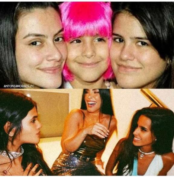 As irmãs Cleo, Ana e Antonia Morais (Foto: Reprodução / Instagram)