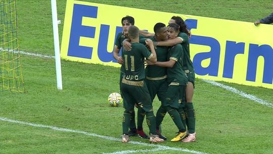 Os gols de Criciúma 2 x 3 América-MG pela Copa SP de futebol júnior