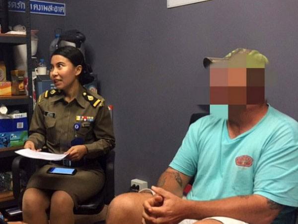 Ator americano Derrick Matthew Keller foi preso na Tailândia por envolvimento em fraude (Foto: Reprodução)