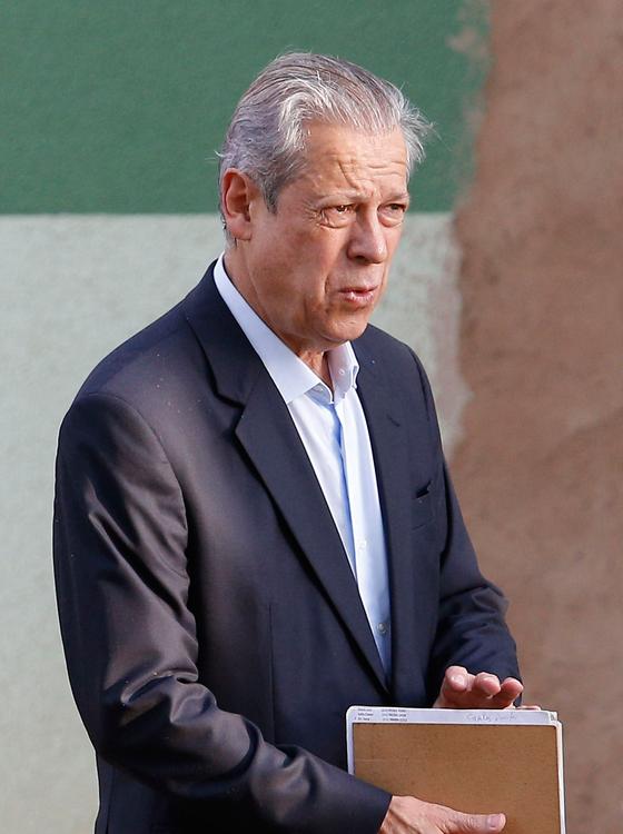 O ex-ministro José Dirceu (Foto:  DIDA SAMPAIO/ESTADÃO CONTEÚDO)