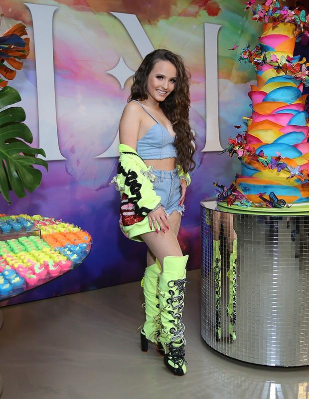 f06f221d4ee37 Larissa Manoela celebra 18 anos com festão em São Paulo (Foto  Manuela  Scarpa