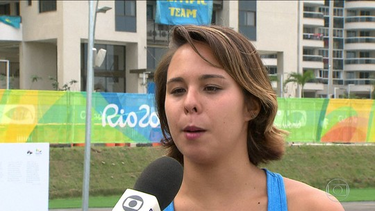 Tammy Galera fala sobre a expectativa para a 1ª Olimpíada