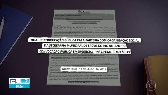 Prefeitura do Rio contrata OSs em caráter emergencial e sem licitação, após perder prazo para abrir editais