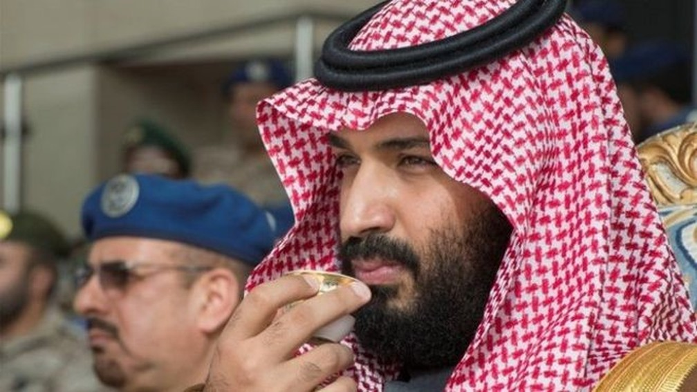 Príncipe herdeiro saudita, Mohammed bin Salman — Foto: Reuters