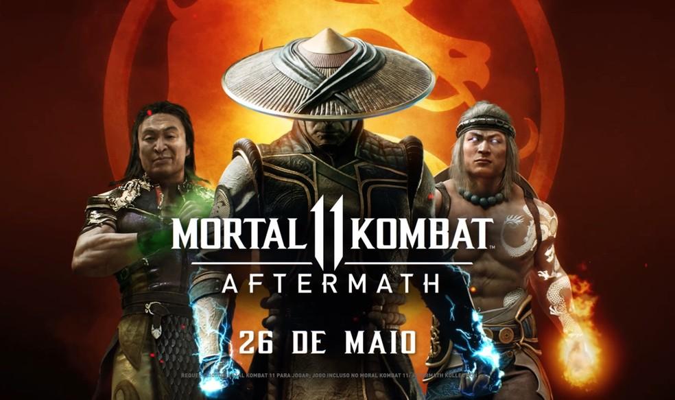 Mortal Kombat 11 terá RoboCop, Fujin e Sheeva como lutadores DLC ...