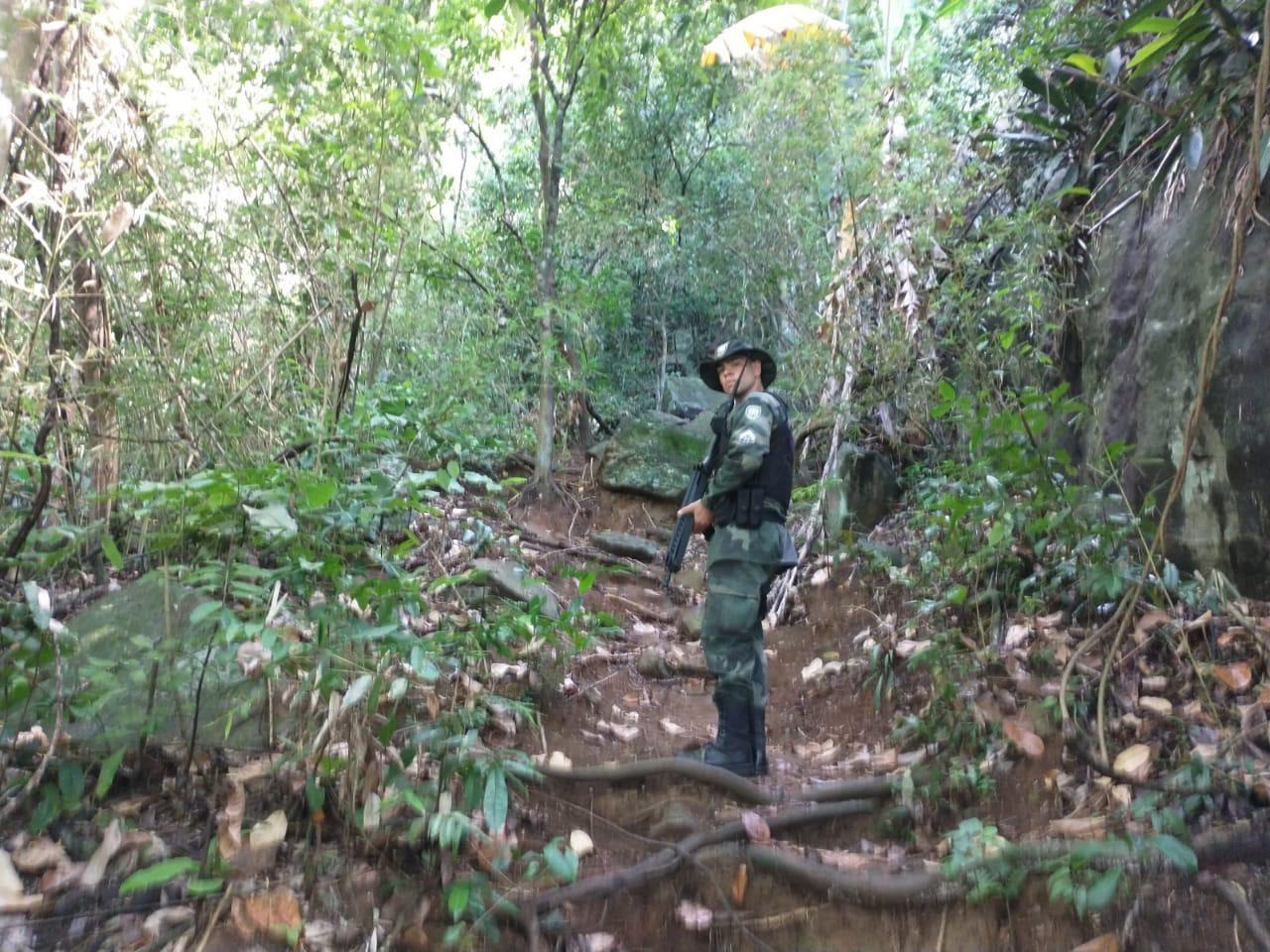 Após morte de agente, trilhas do Morro do Moreno, em Vila Velha, são mapeadas pela polícia
