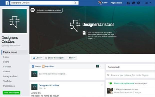 Facebook testa novo layout de página que aproxima rede social do Orkut. (Foto: Reprodução/Facebook)