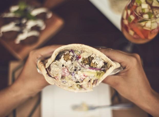 Sanduíche de falafel  (Foto: Divulgação)