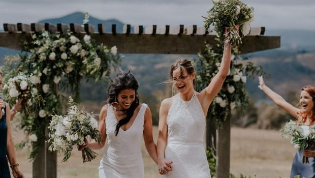 Uma das histórias que saiu no blog da revista foi a do casal Cherie e Kirsten (Foto: Divulgação)
