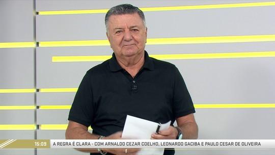 Arnaldo Cezar Coelho diz que Vitória x Bahia foi seu último jogo de Brasileirão como comentarista