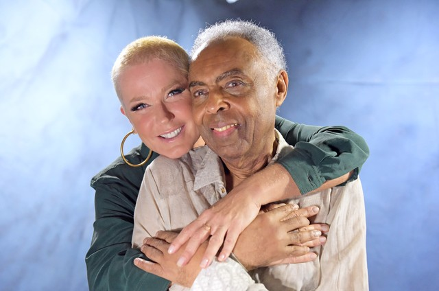 Gilberto Gil entrevistou Xuxa para a segunda temporada de 'Amigos, sons e palavras' (Foto: Blad Meneghel)