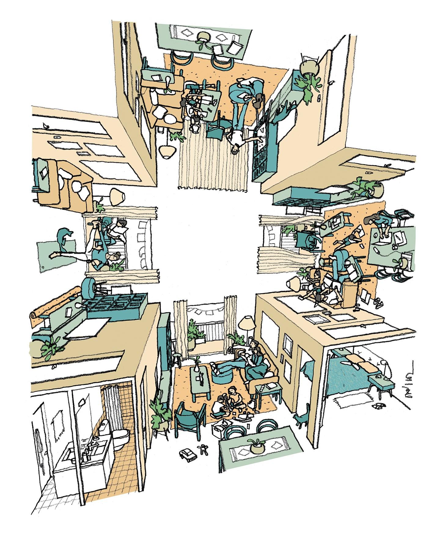 Mudaremos a forma de usar a casa por causa do isolamento? (Foto: daniloz)