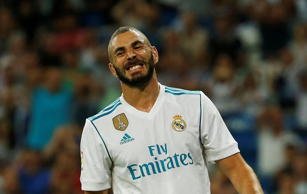 Benzema marcou apenas dois gols em 12 jogos na temporada 2017/18 (Foto: REUTERS/Javier Barbancho)