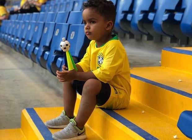 Filho Dani Luiz (Foto: Reprodução Instagram)