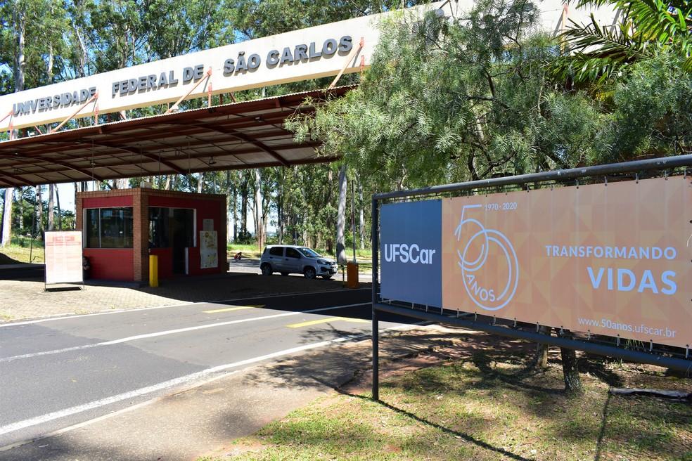 UFSCar em São Carlos — Foto: Gabrielle Chagas/G1