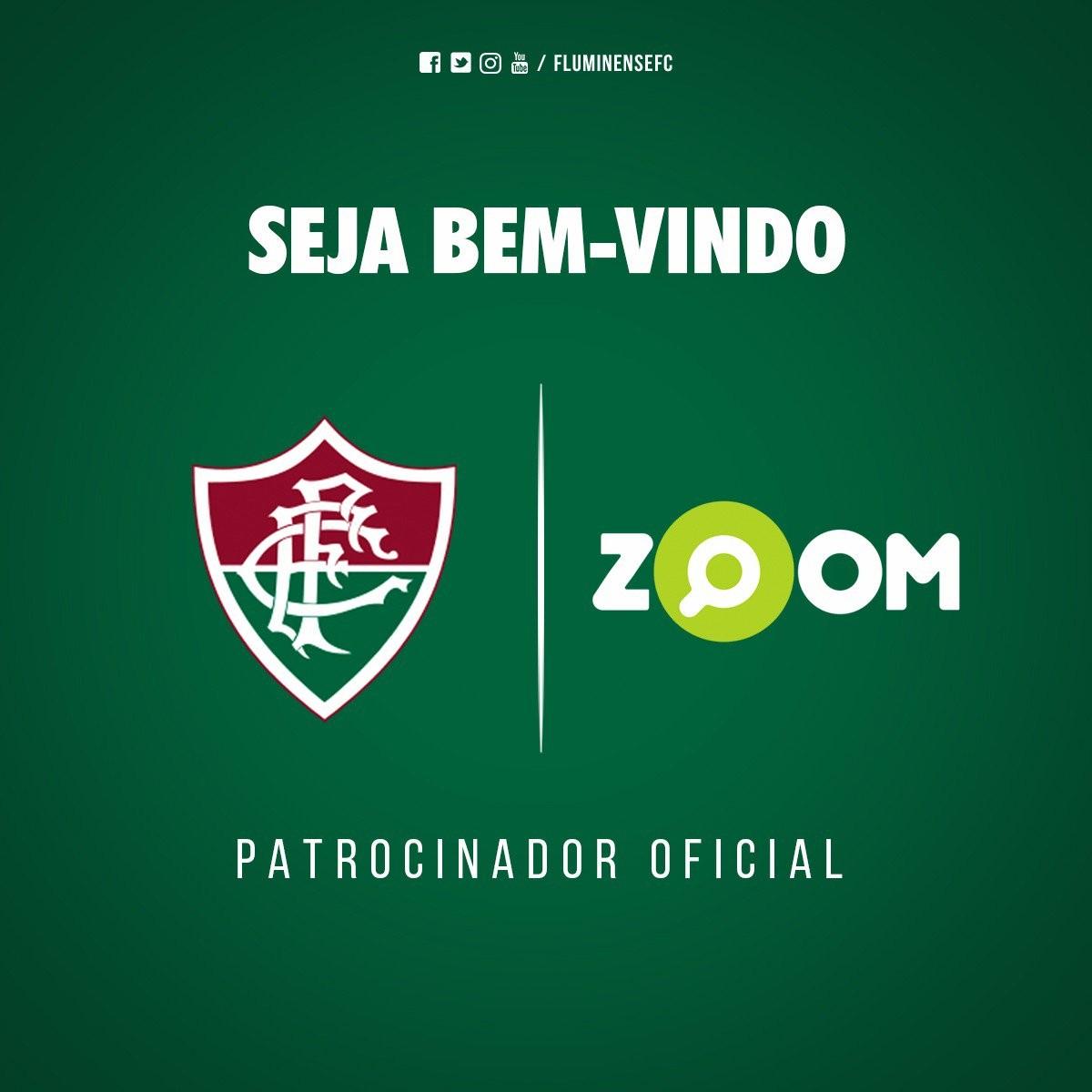 96a8324e66 Fluminense anuncia novo patrocinador  site estampa camisa até fim do ano