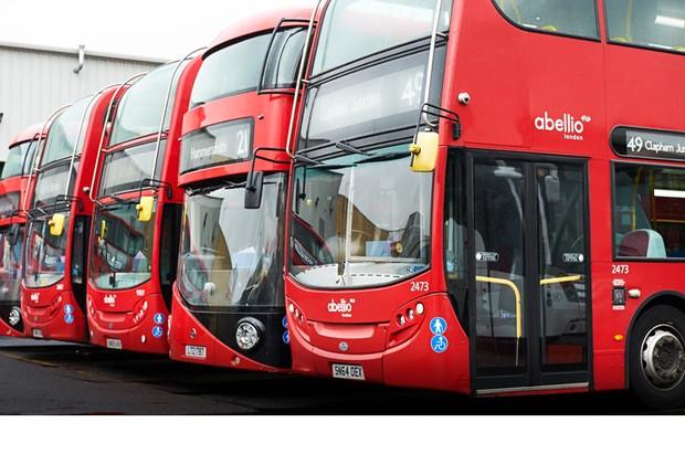 Ônibus da operadora Abellio London viram queda no número de acidentes (Foto: Kevin Murphy/Intel Corporation)