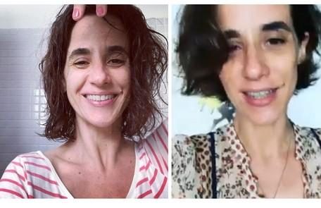 Mariana Lima adotou o curtinho para viver a personagem casada com o de Marco Ricca Reprodução