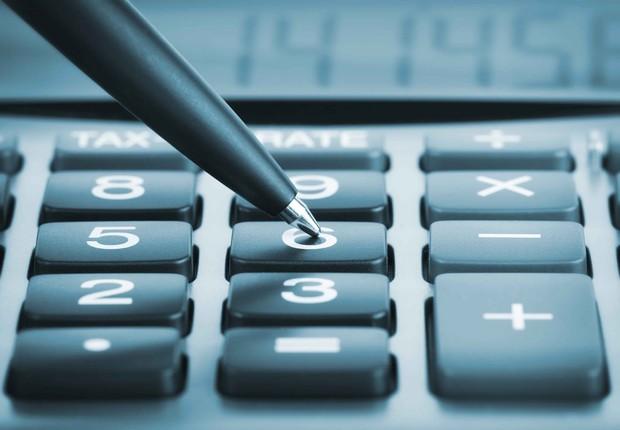 Calculadora ; imposto de renda ;  (Foto: Thinkstock)