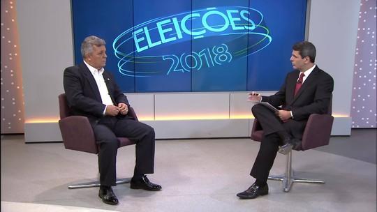 Veja o que é #FATO ou #FAKE na entrevista de Alberto Fraga ao DF1 e ao G1