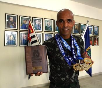 Elenilton Rangel foi o campeão no Desafio do Pateta, em Orlando, Estados Unidos (Foto: Cleber Akamine)