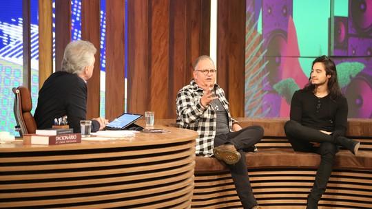 Pedro Bial promove encontro de hitmakers Guilherme Arantes e Tiago Iorc