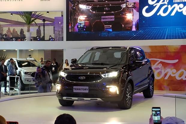 Ford Territory foi criado originalmente na China (Foto: Tabatha Benjamin/Autoesporte)