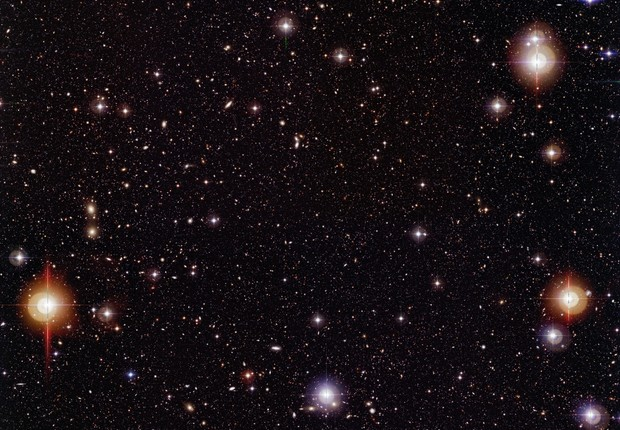 Foto de constelação feita pelo Observatório Europeu do Sul (Foto: ESO/Getty Images)