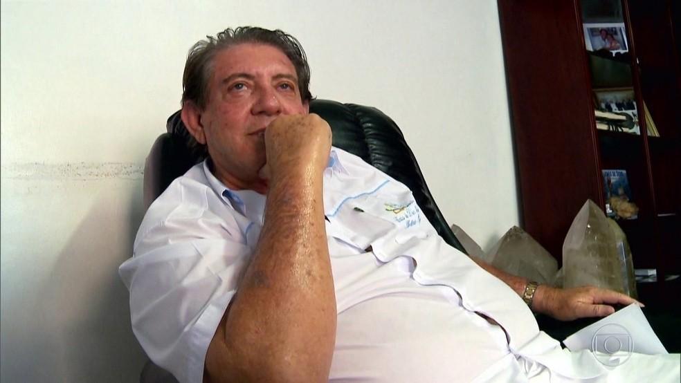 O médium João de Deus, acusado por mulheres de abuso sexual — Foto: Reprodução/TV Globo