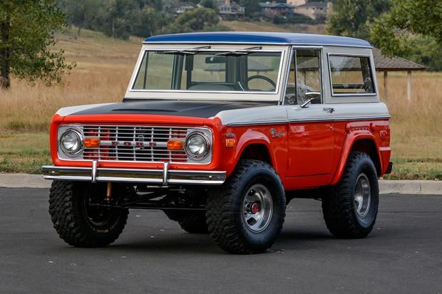 O primeiro Bronco serviu de inspiração para o novo (Foto: Divulgação)