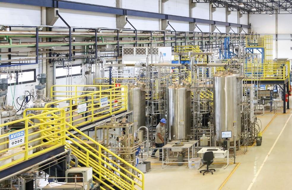 Laboratório em Campinas realiza pesquisas para desenvolvimento em biocombustíveis (Foto: Divulgação/CTBE)
