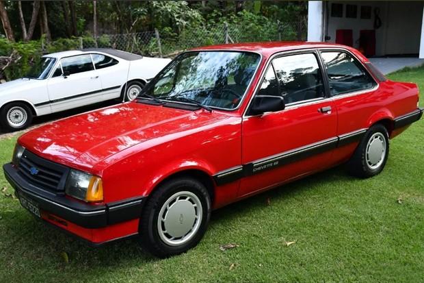 Chevette SE 1987 parece que saiu de concessionária (Foto: Reprodução)
