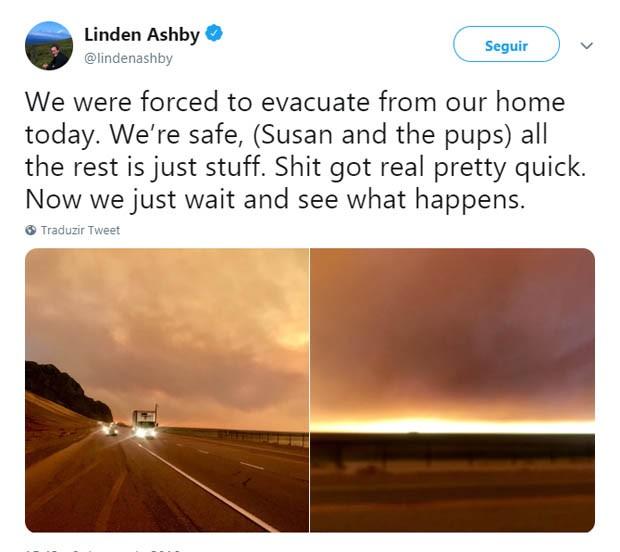 Linde Ashby (Foto: Reprodução/Twitter)