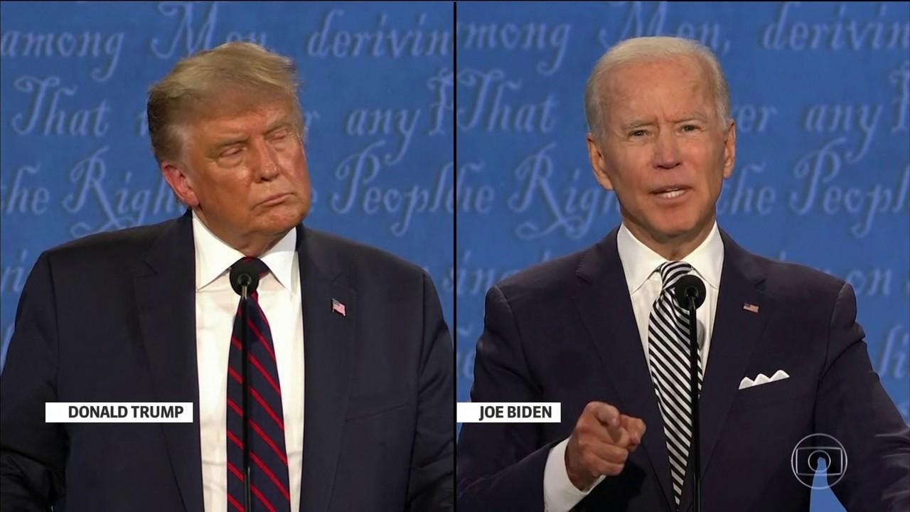 Trump e Biden trocam acusações sobre desigualdade racial e protesto nos EUA