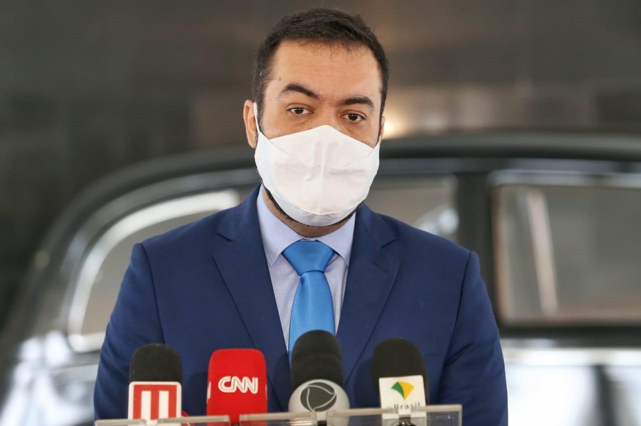Governador em exercício do RJ, Cláudio Castro se compromete a comprar vacinas contra Covid-19 em caso de atraso 'de outros entes'