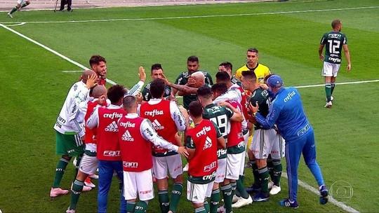 Gols do Fantástico: Palmeiras vence e continua líder do Brasileirão