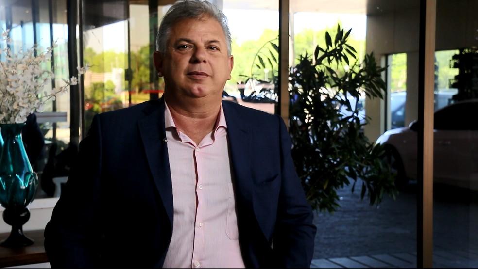 Pedro Affatato, ex-vide de Finanças do Inter — Foto: Eduardo Deconto/GloboEsporte.com