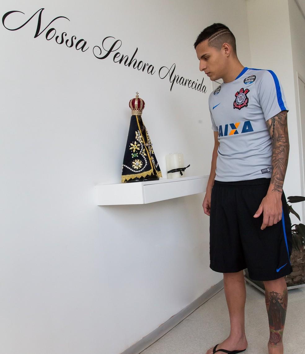 Guilherme Arana Nossa Senhora Aparecida (Foto: Rodrigo Gazzanel / Ag. Corinthians)