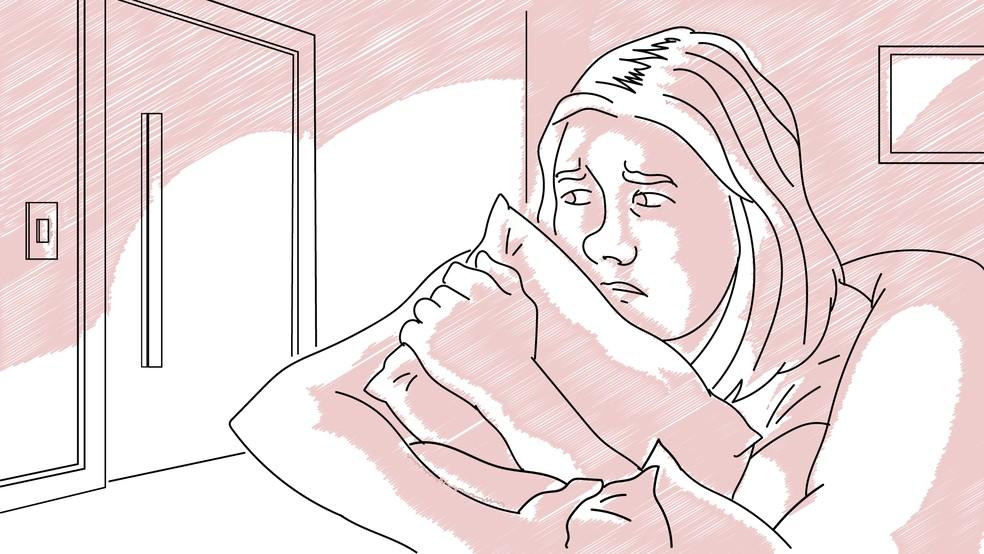 Vítimas sentem medo de seguir a rotina por causa da perseguição — Foto: Daniel Ivanaskas/Arte G1