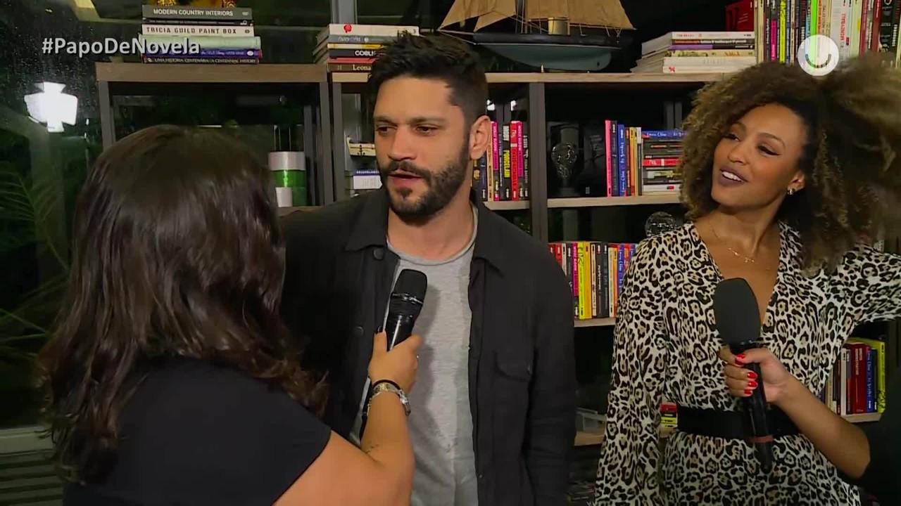 Papo de Novela - Sheron Menezzes e Armando Babaioff falam sobre final de 'Bom Sucesso'