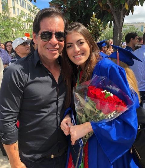 Leandro Hassum e a filha, Pietra (Foto: Reprodução/ Instagram)