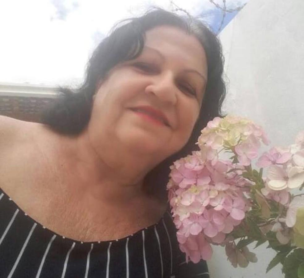 Elvira Cataruci Abertini saiu de casa na parte da manhã e foi morta em Montes Claros — Foto: Redes Sociais