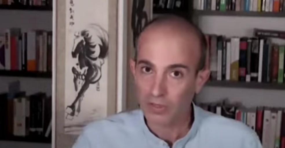 Yuval Harari, escritor e historiador — Foto: Reprodução/Youtube