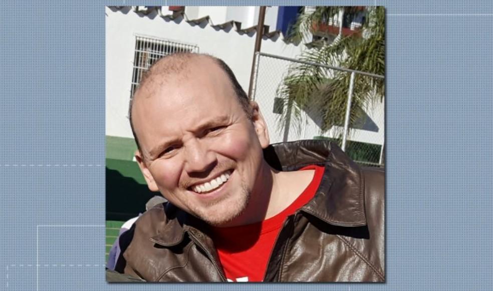 O empresário Fernando Ganci, de 40 anos, é suspeito de matar o tatuador em São Carlos — Foto: Reprodução/EPTV