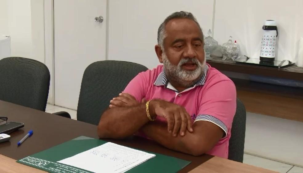 Décio Melo, presidente do Setap — Foto: Rede Amazônica/Reprodução