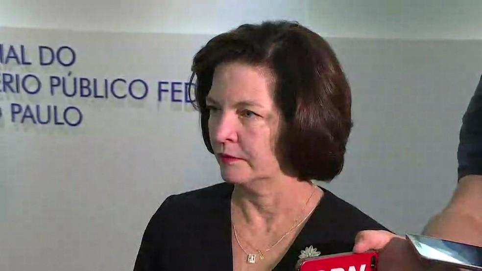 A procuradora-geral da República, Raquel Dodge — Foto: Reprodução/GloboNews