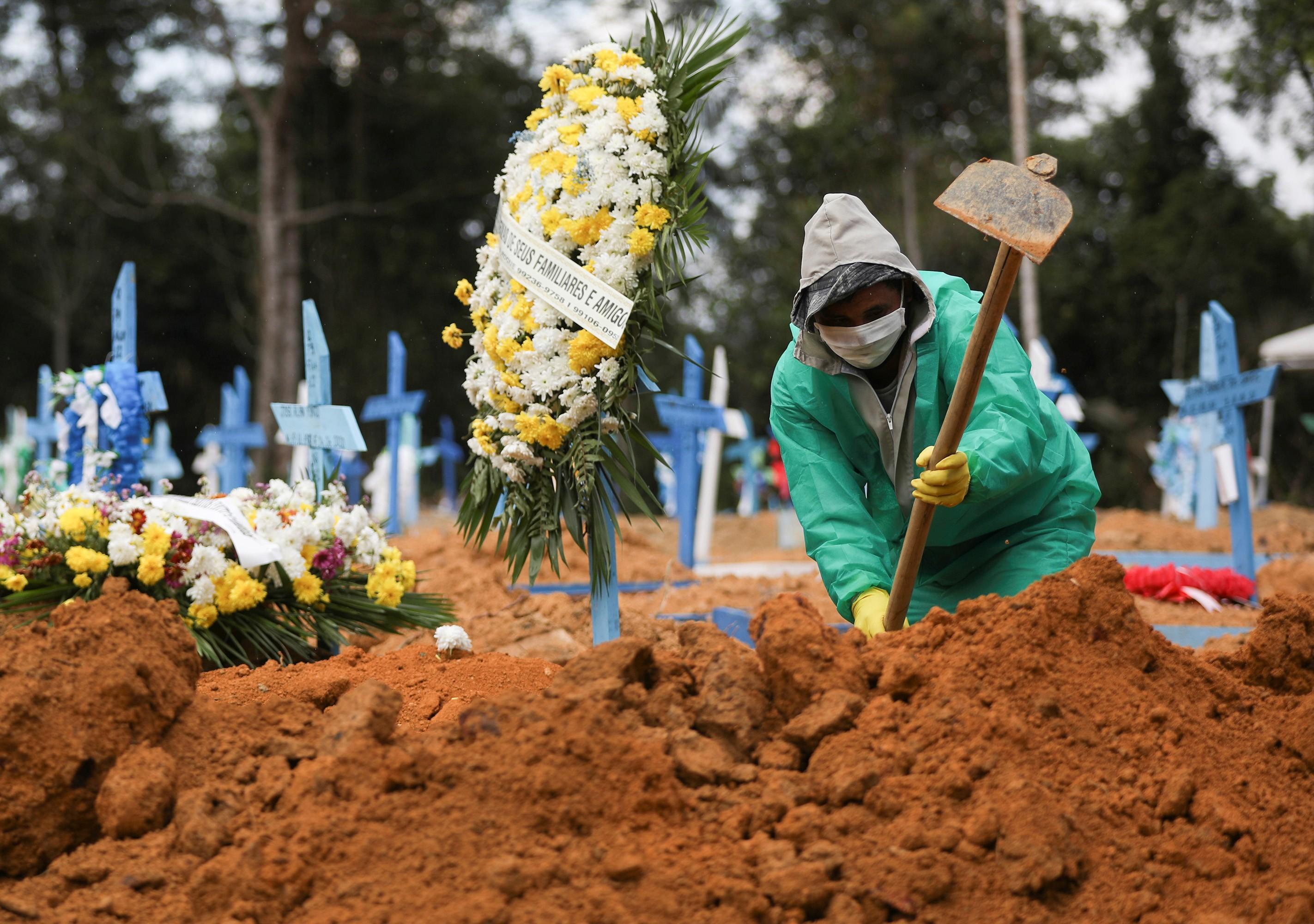 Manaus ficou sem registrar mortes pelo novo coronavírus em cinco dias do mês de julho