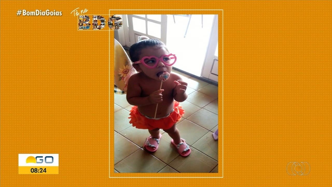 Pais homenageiam filhos no Dia das Crianças com fotos no Bom Dia Goiás