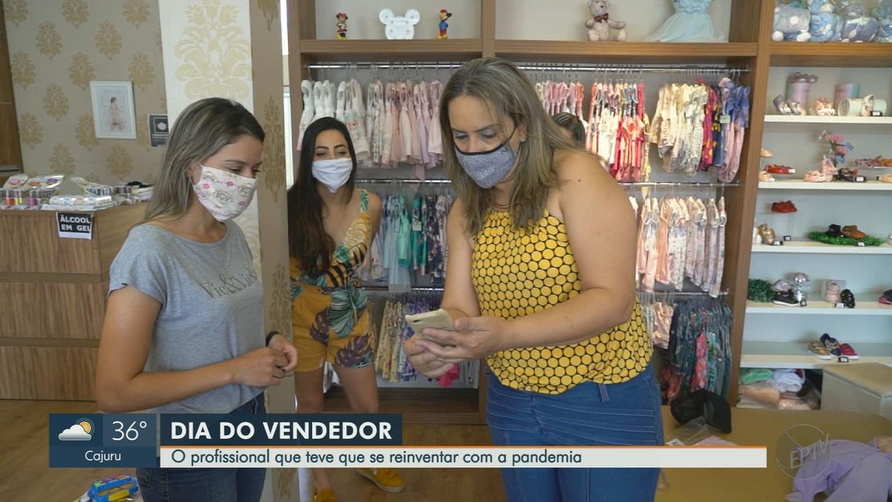Dia do Vendedor: profissional teve que se reinventar com a pandemia da Covid-19