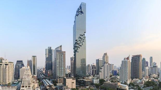 Prédio mais alto da Tailândia ganha deck de vidro surpreendente (Foto: Buro Ole Scheeren/Divulgação)